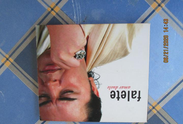 Falete, amar duele - cd con libreto estuche carton