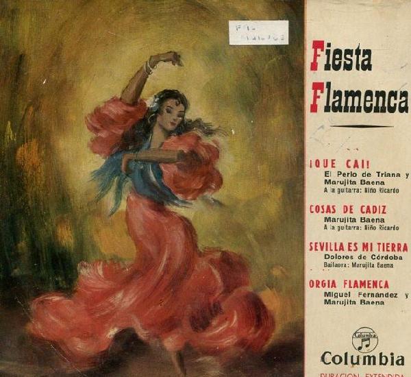 Fiesta flamenca -el perlo de triana - marujita baena /