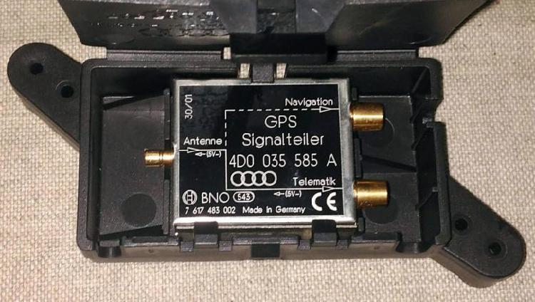 Filtro emisiones antena de audi a6