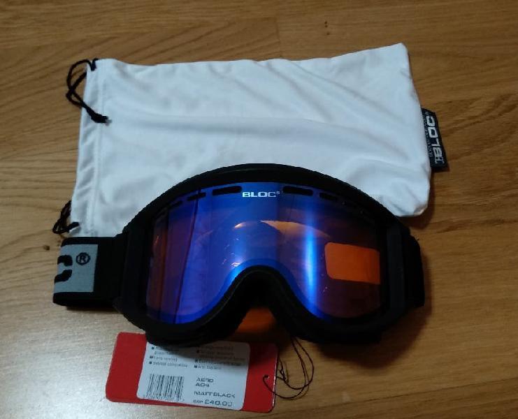 Gafas de esquí bloc aero a04 nuevas