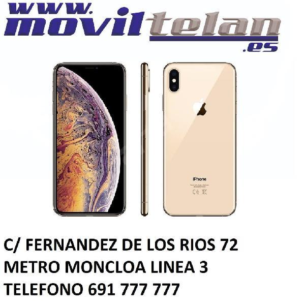 Iphone xs 256gb gold telf mas cargador garantia