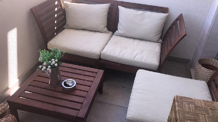 Juego muebles terraza