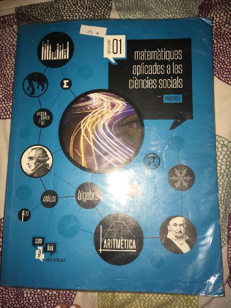 Libros de texto 1o bachillerato