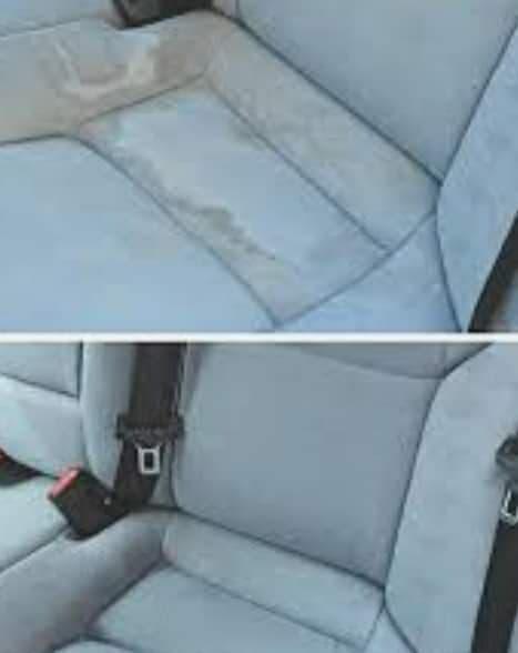 Limpieza interior de coches