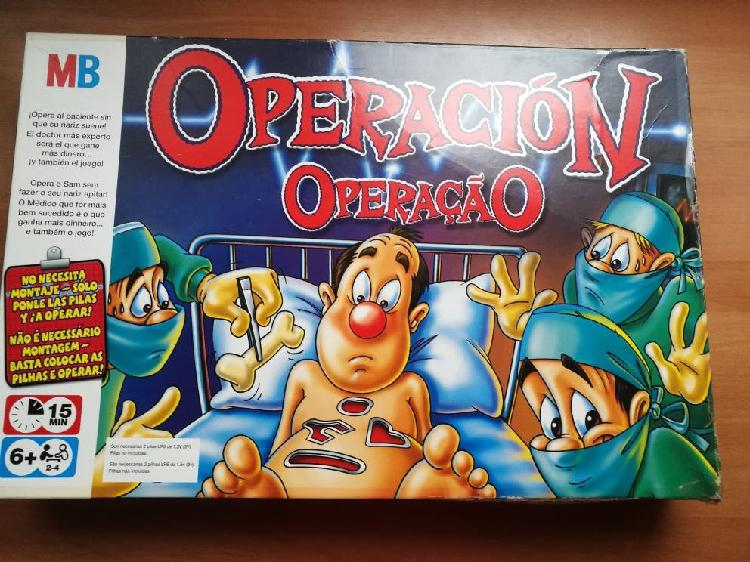 Lote juguetes: operación + puzzle + peluches