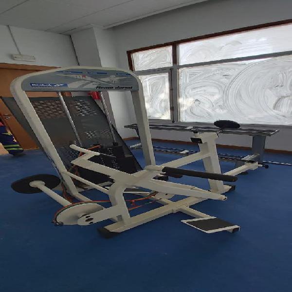 Máquinas de gimnasio marca reebok