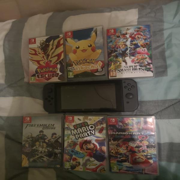 Nintendo switch nueva +juegos