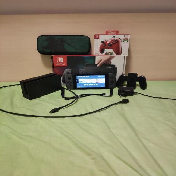 Nintendo switch + juegos digitales
