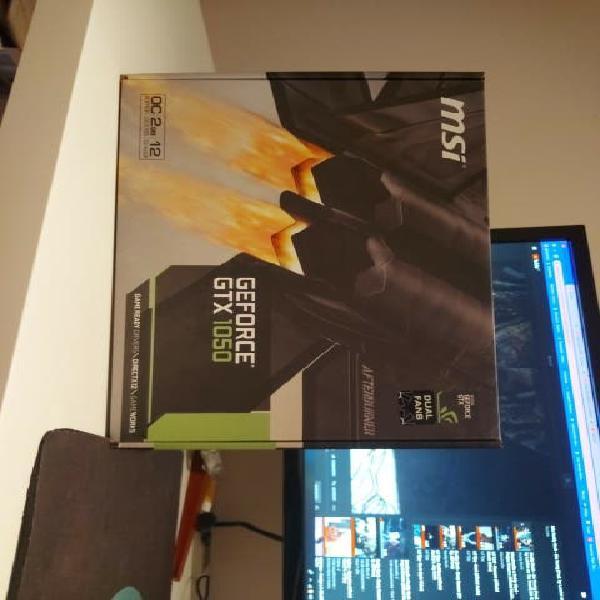 Nvidia geforce gtx 1050 2gb gddr5 oc (dual fans)