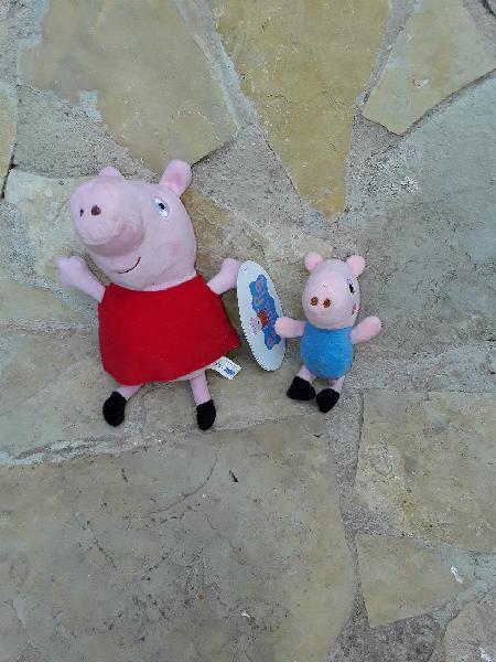 Peppa pig y su hermano