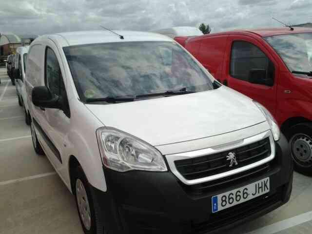 Peugeot partner, km certificados,