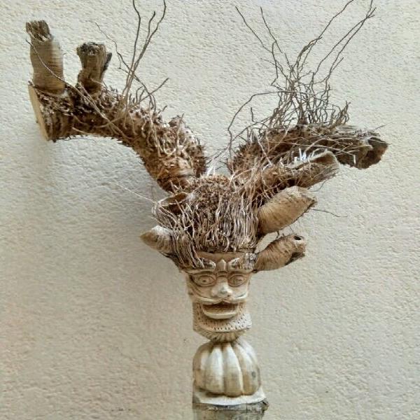 Pieza única de bambú 65 cm