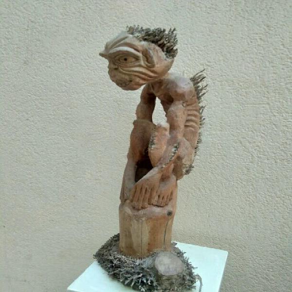 Pieza única de bambú 65 cms