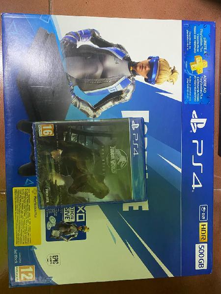 Play station 4 slim 500 gb + juego
