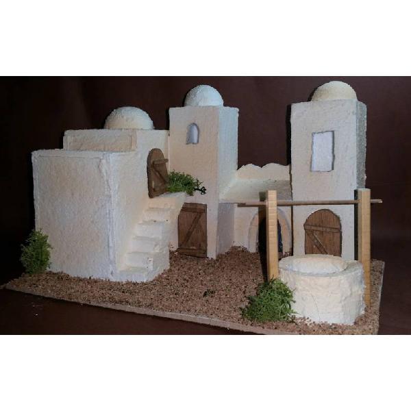Pueblo con pozo r10340
