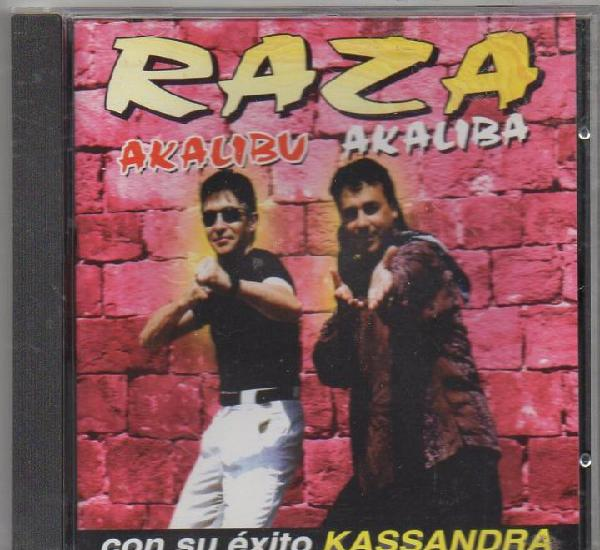 Raza - akalibu akaliba - con su exito kassandra / cd album
