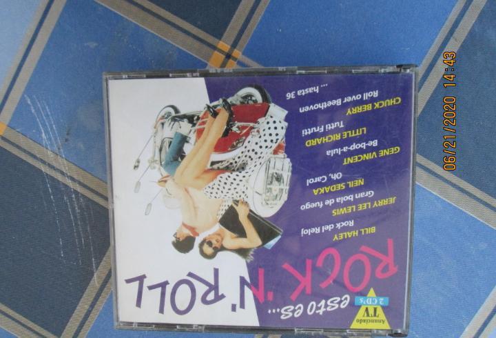 Rock ¨n¨ roll esto es....2 cd,s 36 temas, bill haley, neil