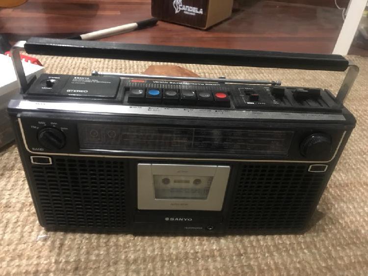 Radio cassete sanyo m 9902 k