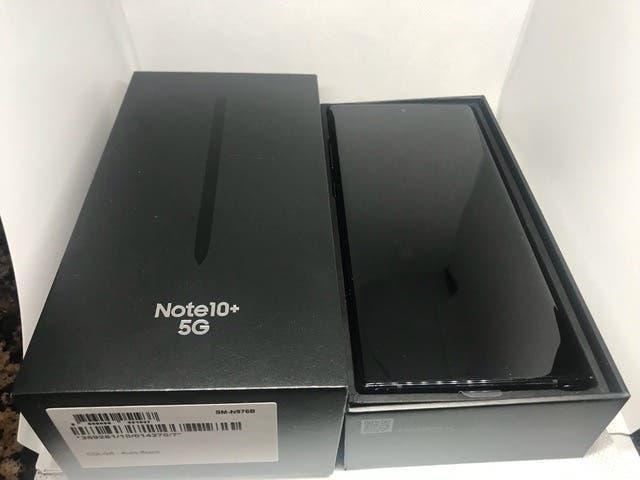 Samsung note 10+ 5g 512gb aceptó cambios