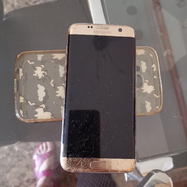 Samsung s7 edge dorado