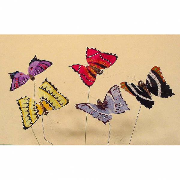 Set de 12 mariposas r3828