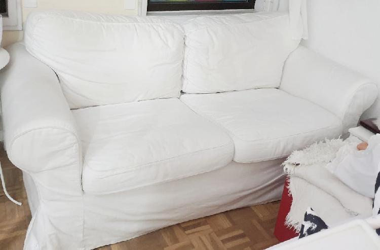 Sofá dos plazas ektorp blanco