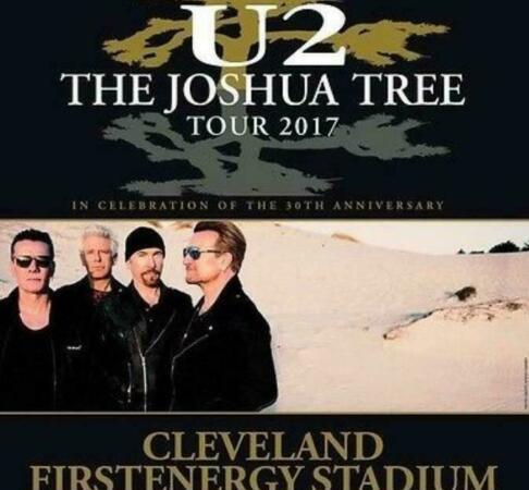 U2 - joshua tree 30th anniversary tour, cleveland, ohio -