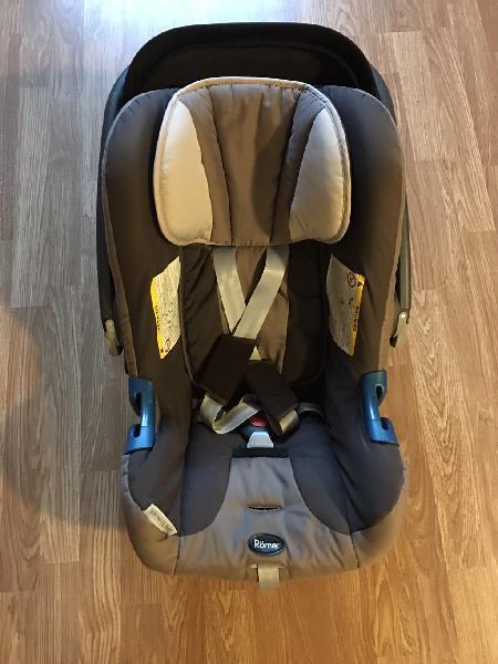 Vendo silla de auto römer baby safe plus grupo 0+
