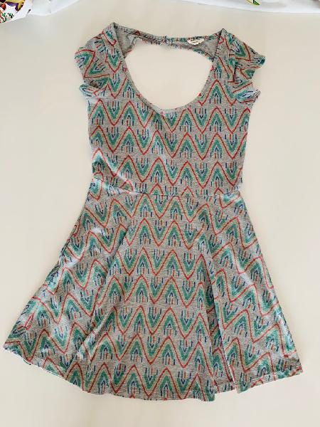 Vestido de verano manga corta