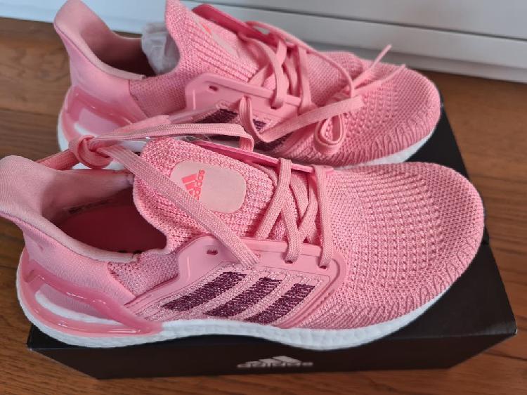 Zapatillas adidas ultraboost 20 rosa mujer