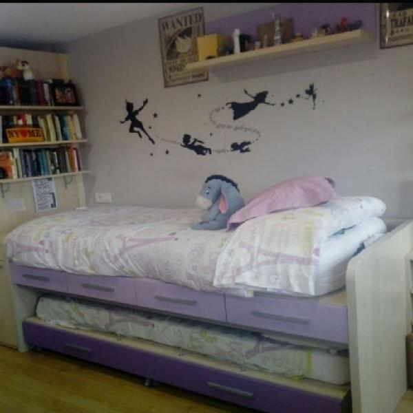 Cama nido juvenil (2 camas)