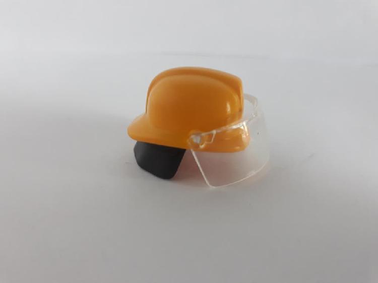 Casco bombero playmobil