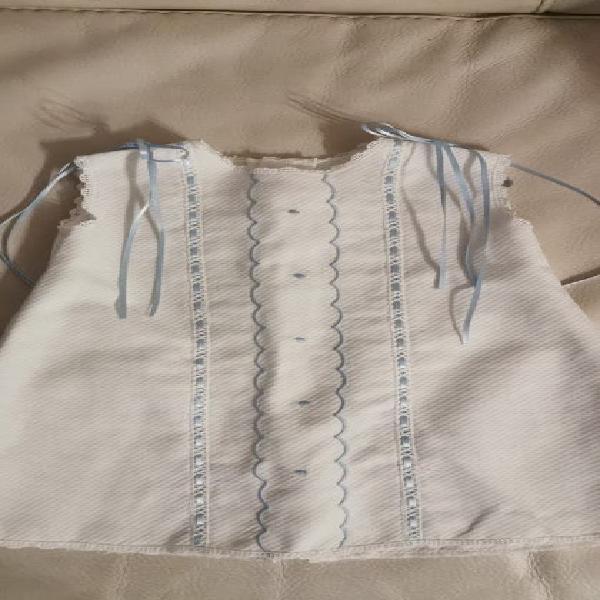 Ropita bebé vestido pique t/ 3-6 meses impecable