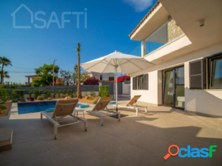 Preciosa vivienda con vistas al mar y a la bahía de Palma de Mallorca. 2