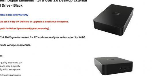 Disco duro externo 1.5tb western digital