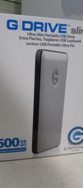 Disco duro g-drive 500 gb usb