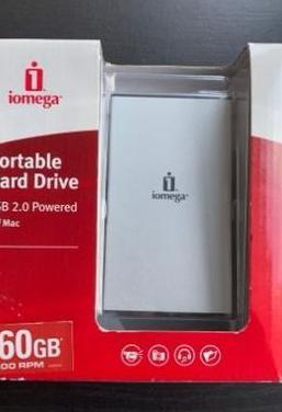 Disco duro externo iomega 160gb
