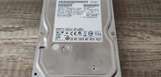 Hitachi 500gb sata 3.5 disco duro