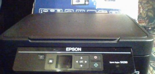 Impresora epson stylus sx420w con wifi