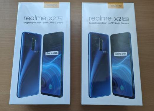 Realme x2 pro snapdragon 855 8gb ram