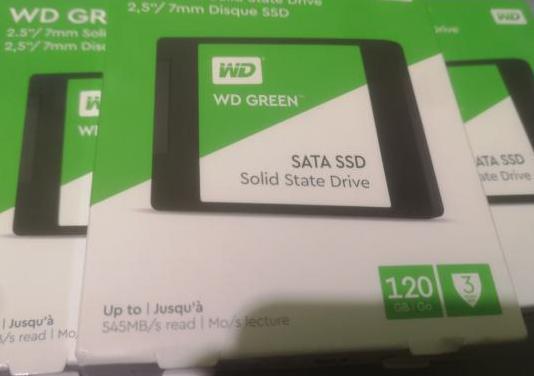 Ssd 120gb western green 120gb nuevo