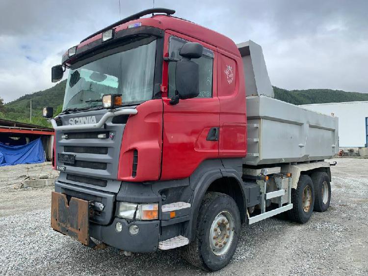 Scania r580 6x4 dump truck en venta