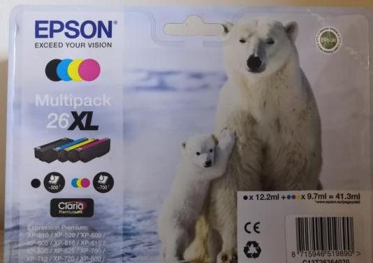 Tinta epson multipack 26xl. original