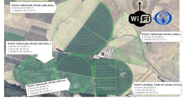 Venta de control total de explotacion por wifi en valladolid