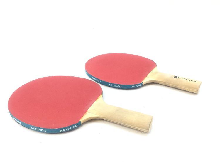 Accesorios ping pong artengo palas ping pong + pelota