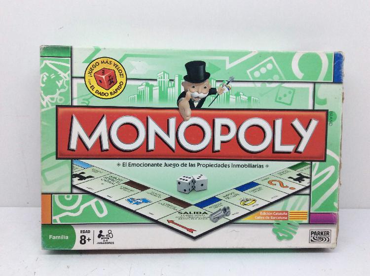 Juegos de mesa parker monopoly vedicion cataluã'a - calles
