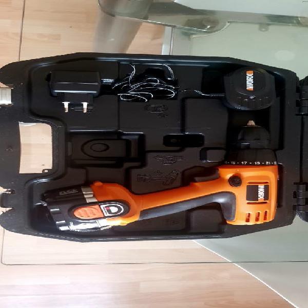 Atornilladora/ taladro eléctrico worx