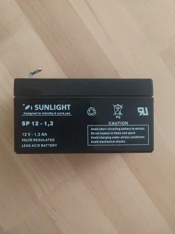 Baterias sunligth 12v/1///'3ah