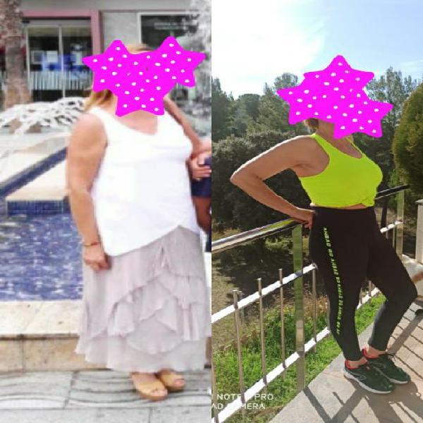 Baja peso y gana salud