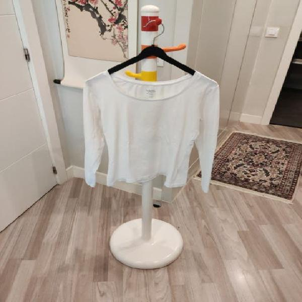 Camiseta básica de mujer de manga larga